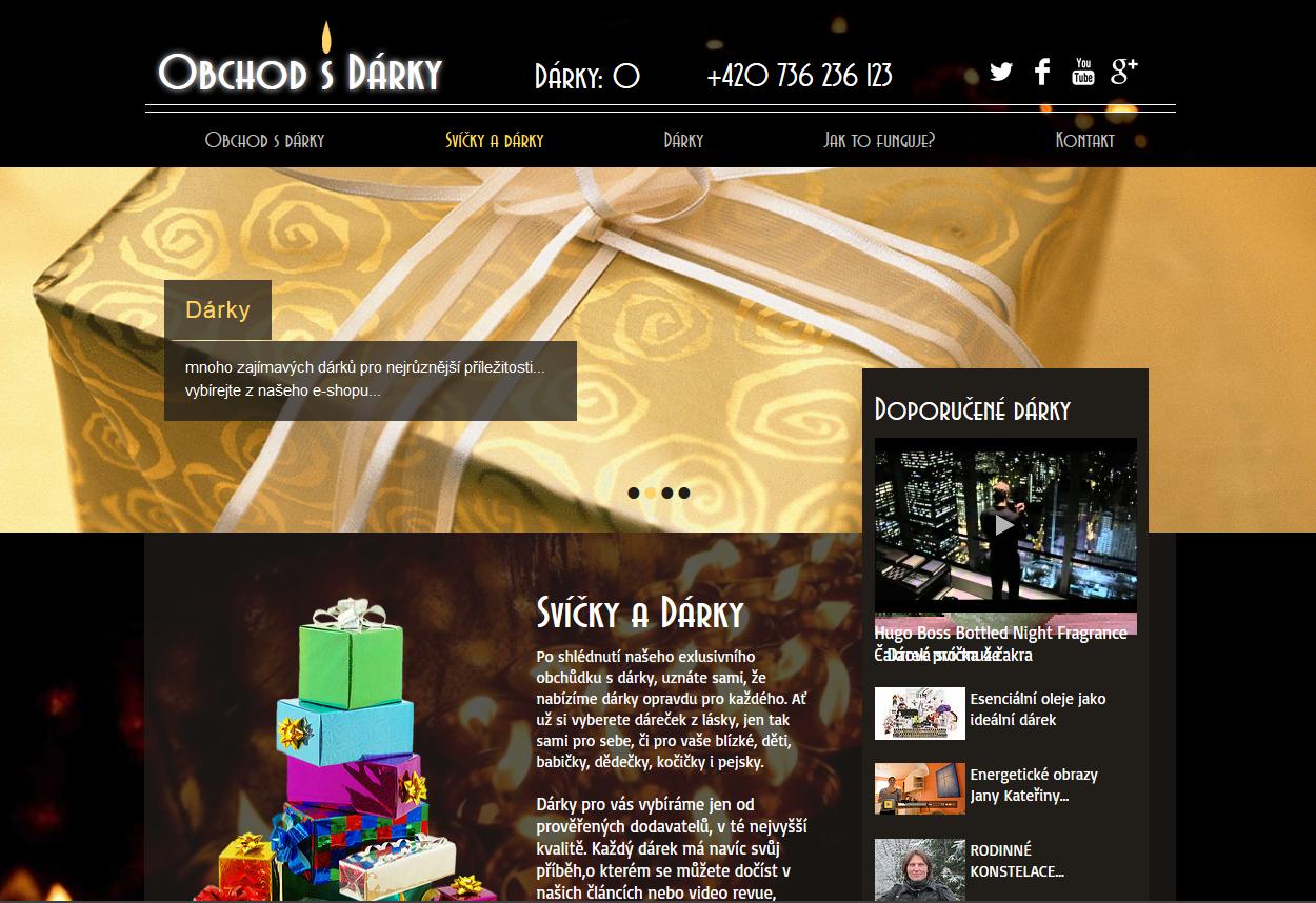 Obchod s dárky - Grácie