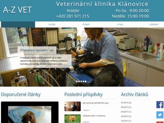 Výroba webových stránek www.veterina.net