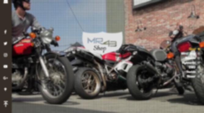 Výroba webových stránek pro MR43 Moto Shop