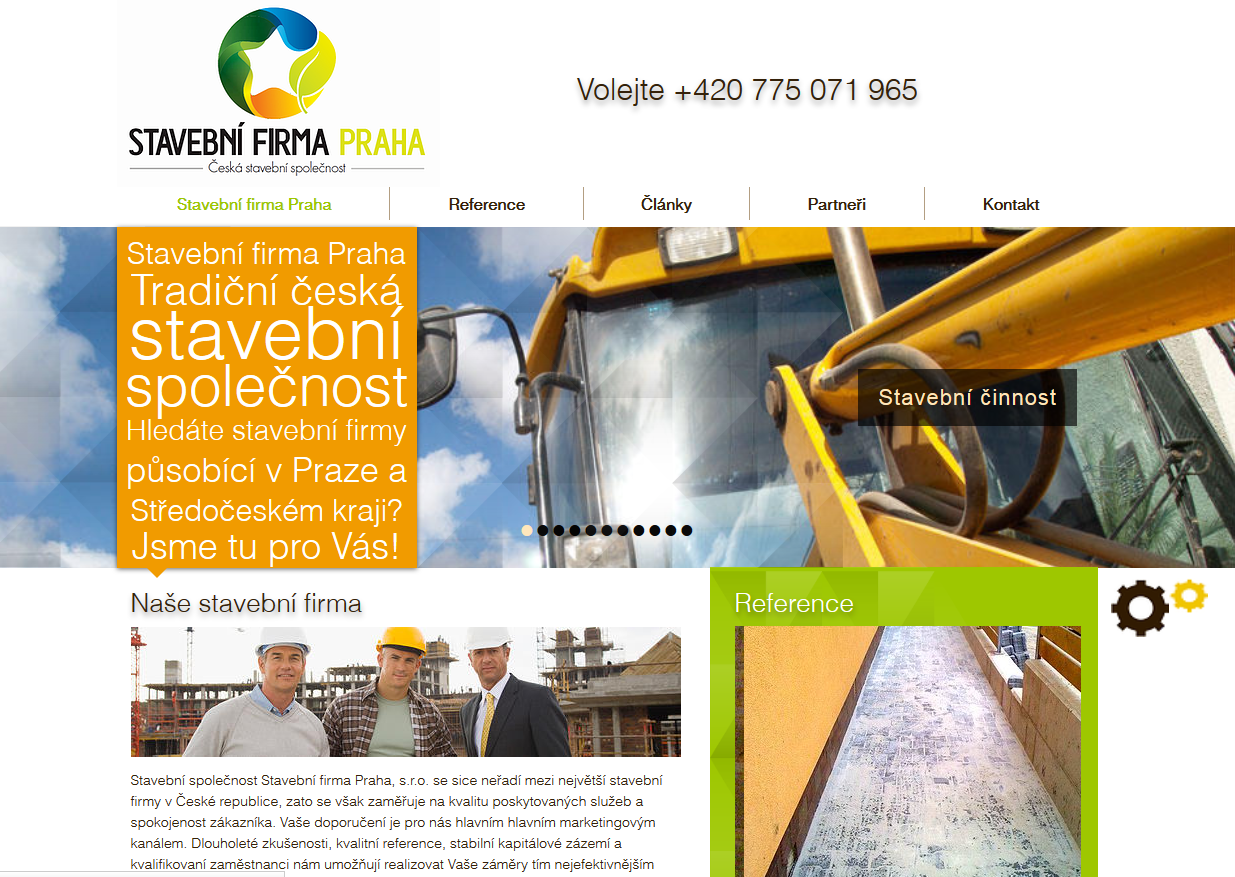 Stavební firma Praha