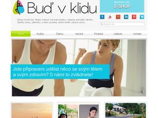 Výroba webových stránek www.budvklidu.cz