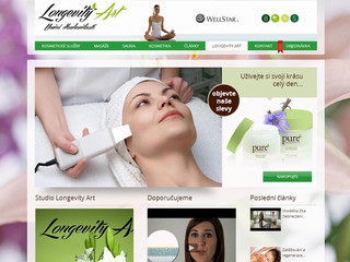 Výroba webových stránek www.kosmeticke-sluzby.com