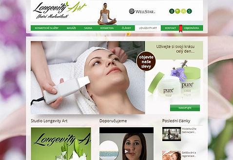 Tvorba webových stránek www.kosmeticke-sluzby.com