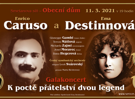 Concert 11. March 2021: Caruso & Destinnova
