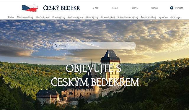 Český bedekr - Výroba webových stránek