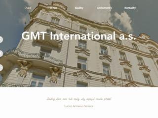 Výroba www stránek GMT-international