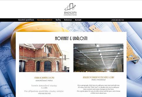 Tvorba webových stránek www.stavebni-spolecnost.com