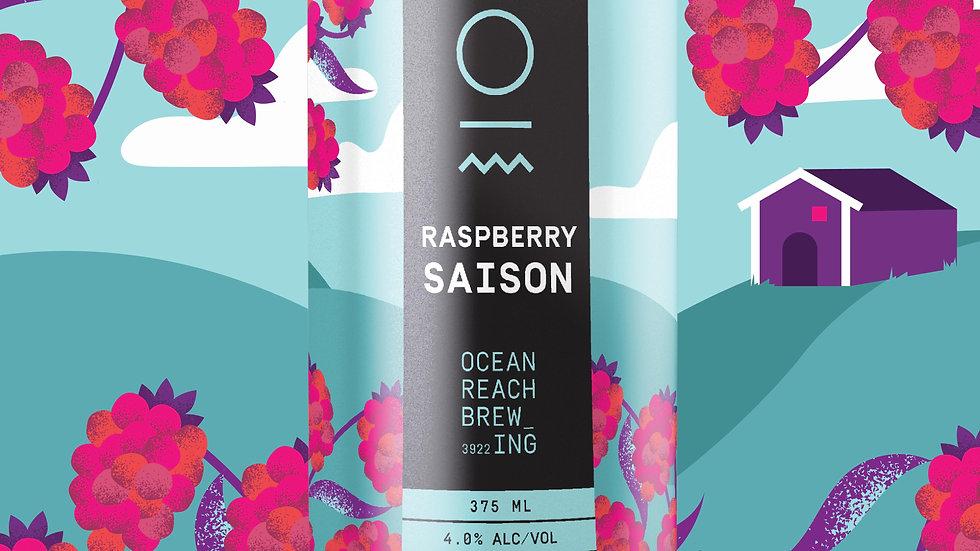 Ocean Reach Brewing Raspberry Saison