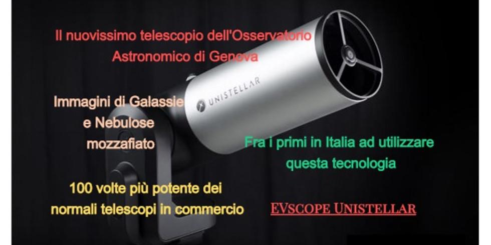 """ANTICIPATO 28/02 """"Presentazione e Osservazione con l'EVscope Unistellar"""""""