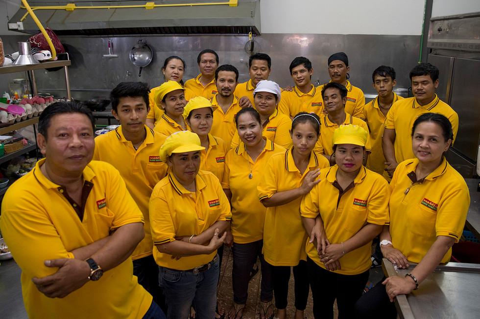 Staff of Ranong Torung Restaurant TeamStaff of Ranong Torung Restaurant Team