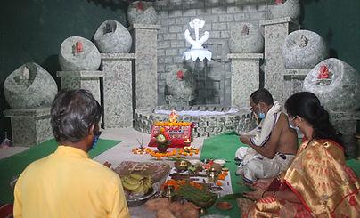 Ganesh Chaturthi celebration at X-Gen College