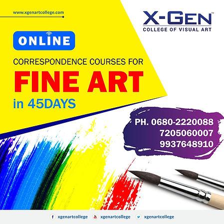 Fine Art College in Odisha  X-Gen college of visual Art