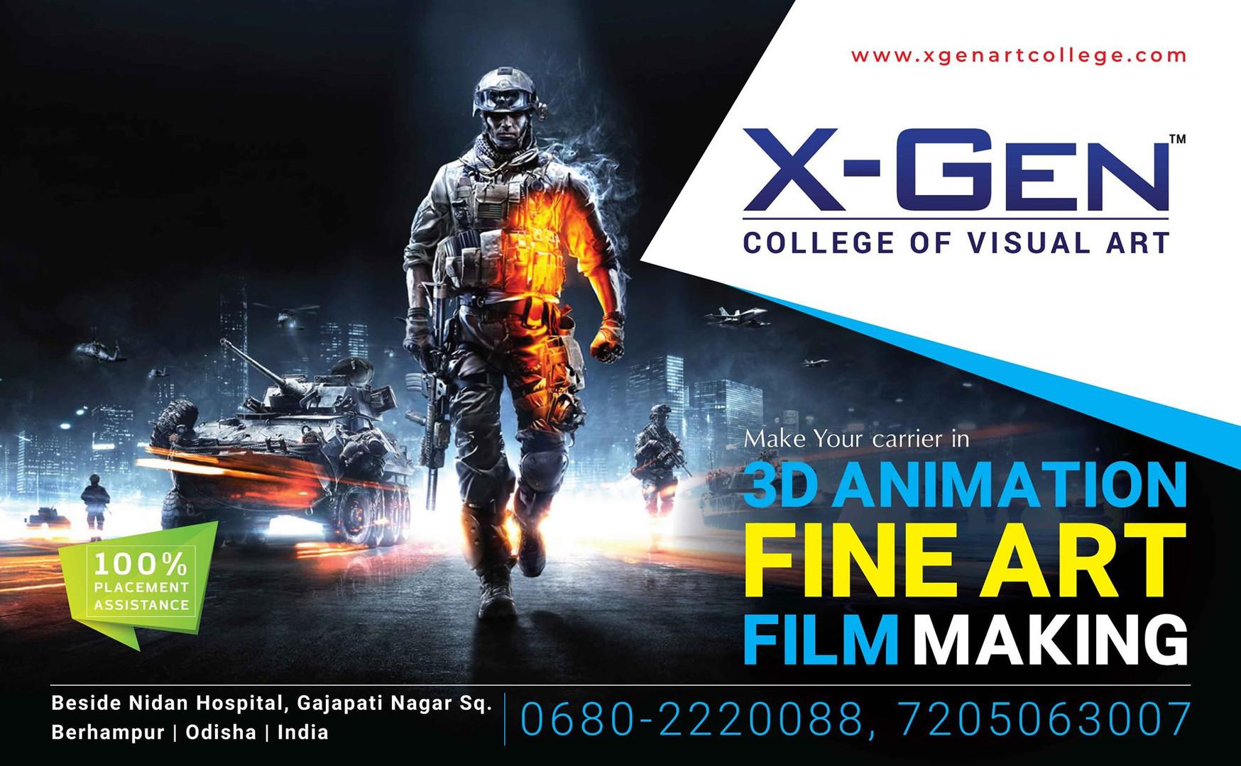 X-Gen College of Visual Art & Animation