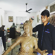Sculpture work Government Approved Animation College : X-Gen College of Visual Art