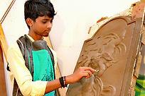 Aswin Chand NVA 3rd Year student of X-Gen College of Visual ARt