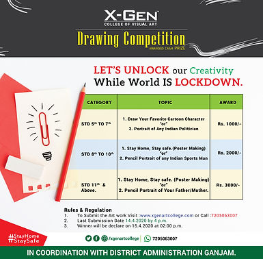 X-Gen-College-of-Visual-Art-Drawing-Comp