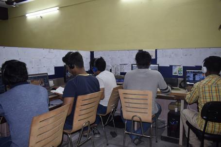 Students at Pratics Lab