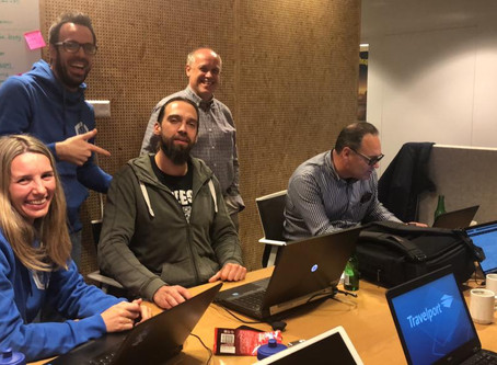 Beyond Analysis and Travelport AI and Machine Learning Teams at the Travix Hackathon