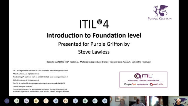 FREE ITIL® 4 OVERVIEW SESSIONS