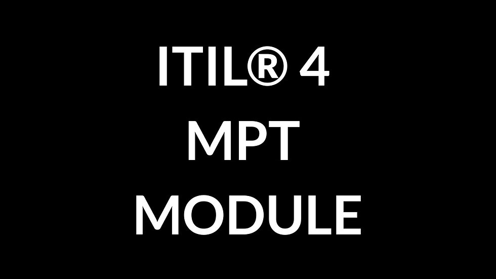 ITIL® 4 Managing Professional Transition Module Online (150 Days)