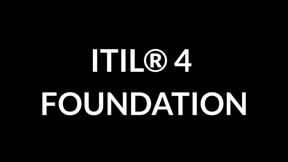 ITIL® 4 Foundation (Virtual)