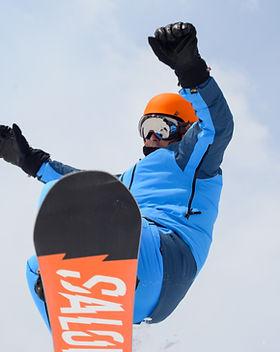 snowboard salto