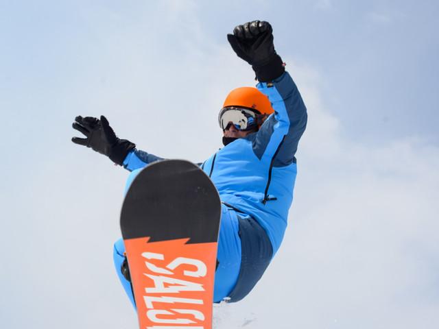 Snowboard-Sprung