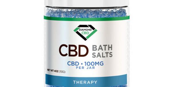 CBD Bath Salts: Therapy