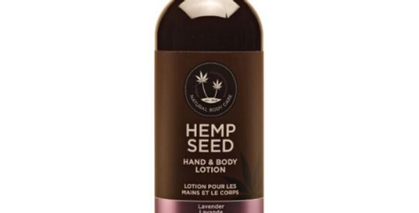 Hemp Seed Hand & Body Lotion: Lavender