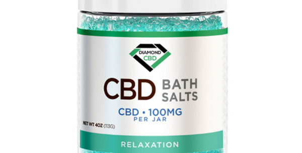 CBD Bath Salts: Relaxation