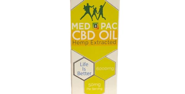 Med Pac CBD Oil: Lemonade