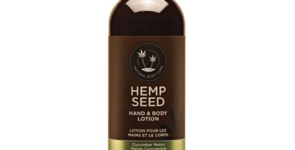 Hemp Seed Hand & Body Lotion: Cucumber Melon
