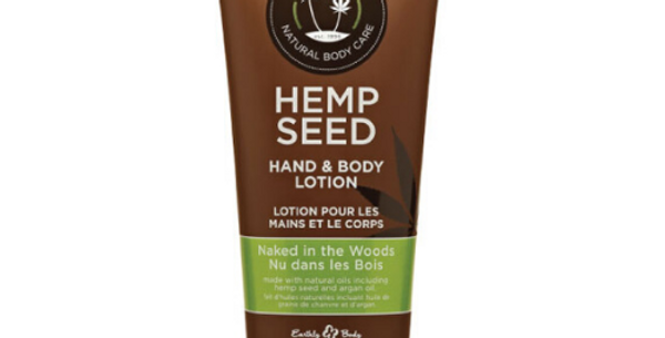 Hemp Seed Hand & Body Lotion: Naked in the woods