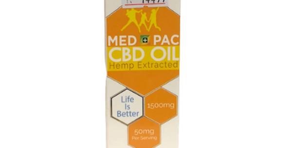 Med Pac CBD Oil: Orange