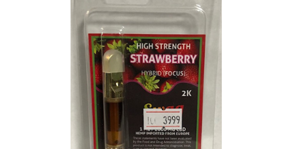 High Strength Strawberry Vape