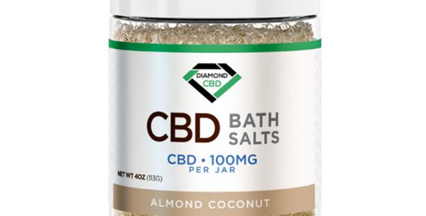 CBD Bath Salts: Almond Coconut