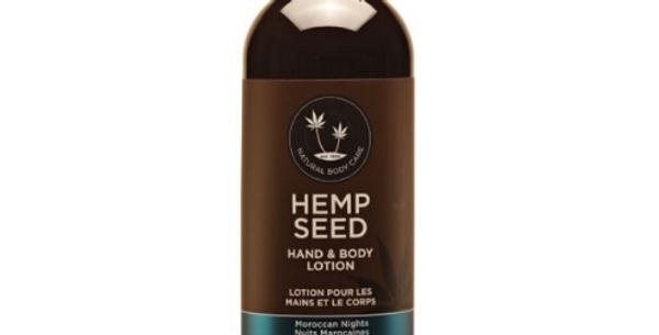 Hemp Seed Hand & Body Lotion: Moroccan Nights