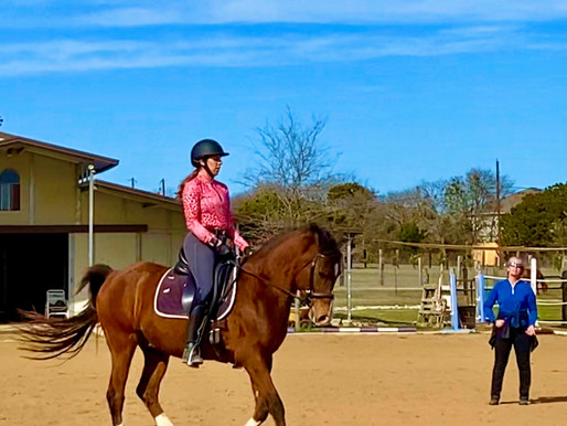 One Day Clinic Roundup:  Body Position Fixes, Getting Focus Back, Giving the Horse a Chance & More