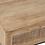 Thumbnail: Consola de madeira com pé em metal preto