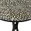 Thumbnail: Pack 2 mesas redondas de ferro mosaico preto e branco