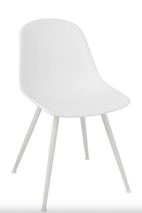 Pack 2 cadeiras Pp Branco