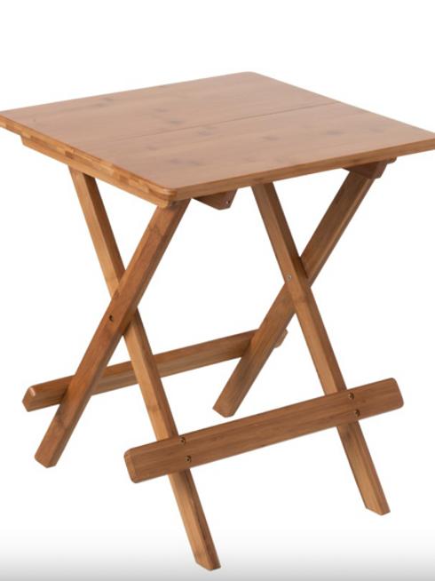 Pack 2 mesas apoio madeira