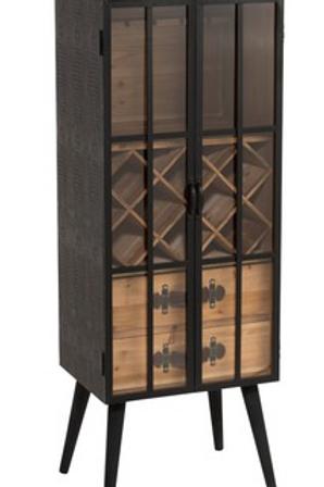 Móvel bar de madeira