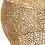 Thumbnail: Mesa de centro redonda dourada