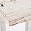 Thumbnail: Secretária com tampo em madeira e pés metálicos