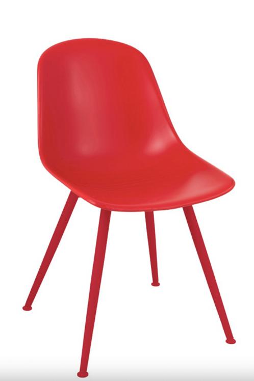 Pack 2 cadeiras Pp vermelho