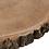 Thumbnail: Mesa apoio redonda com tampo madeira