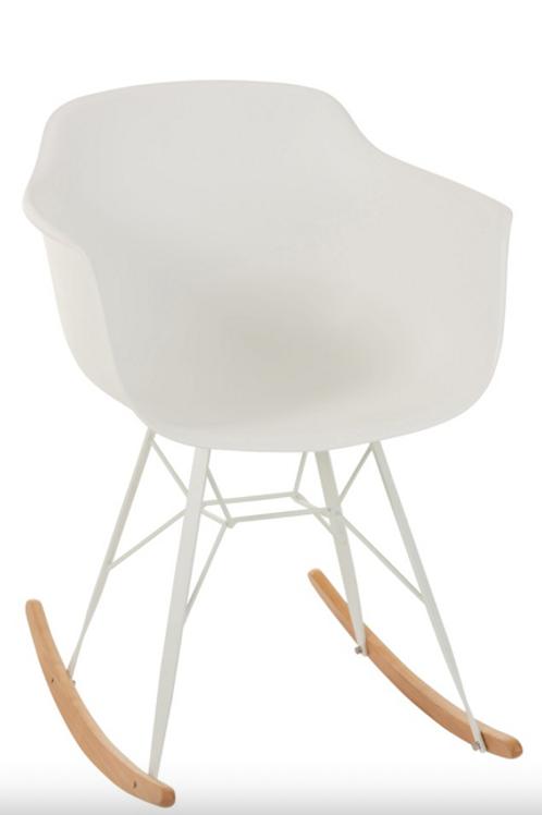 Pack 2 cadeiras Baloiço Pp branco