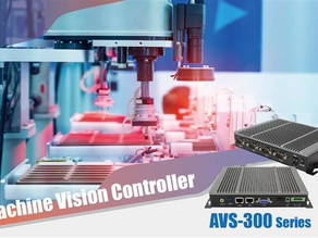 AVS-300 Series, Compact Box PC for Machine Vision Application