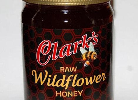 1 CASE 16 oz. WILDFLOWER HONEY JARS